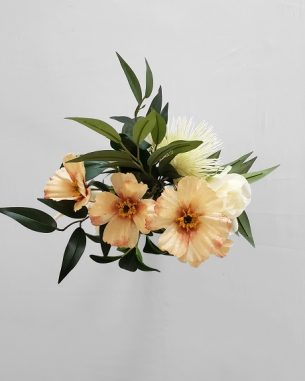 Dahlia and anemone centerpiece from the Sydney Collection