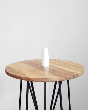 Basic small white vase